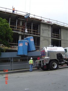 porta potties for buffalo construction sites