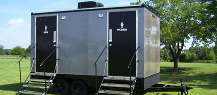 vip portable restroom trailers in Buffalo NY